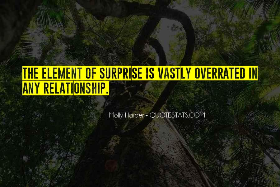 Quotes About The Element Of Surprise #281494