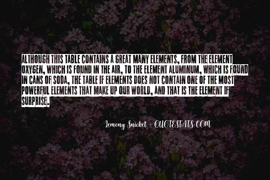 Quotes About The Element Of Surprise #482787