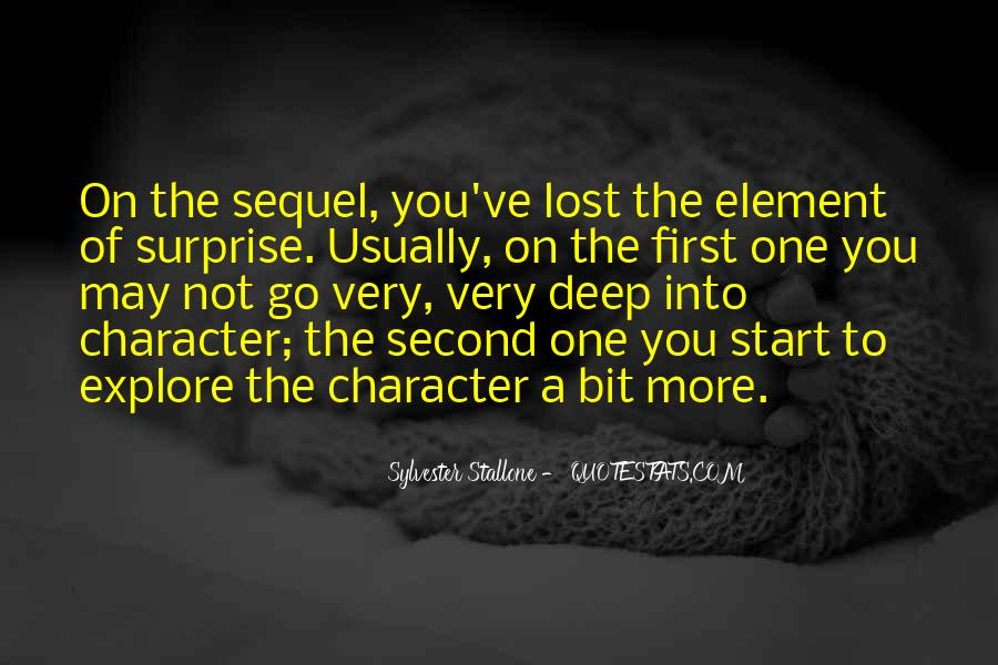 Quotes About The Element Of Surprise #498390