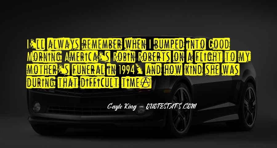 Good Morning America Robin Roberts Quotes #439335