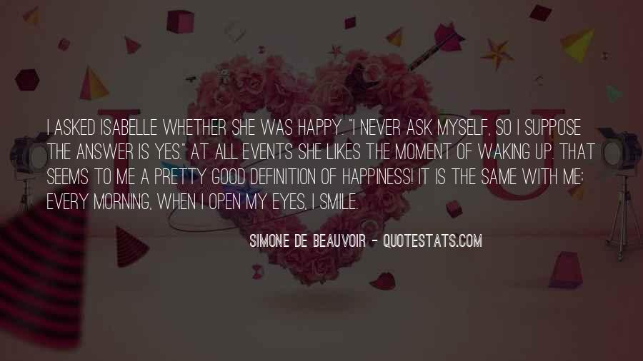 Good Morning And Smile Quotes #149566