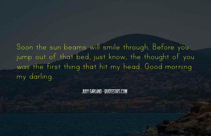 Good Morning And Smile Quotes #263339