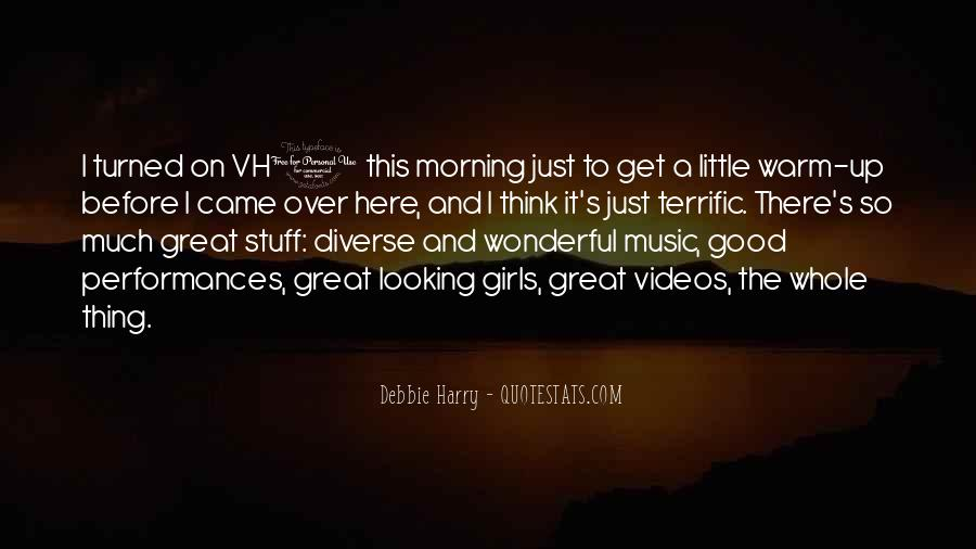 Good Morning Great Quotes #1696562