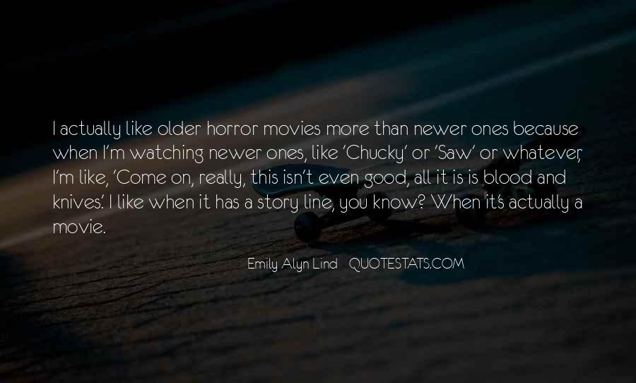 Good Movie Line Quotes #435402