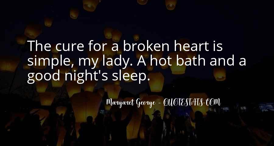 Good Night Heart Quotes #1396066