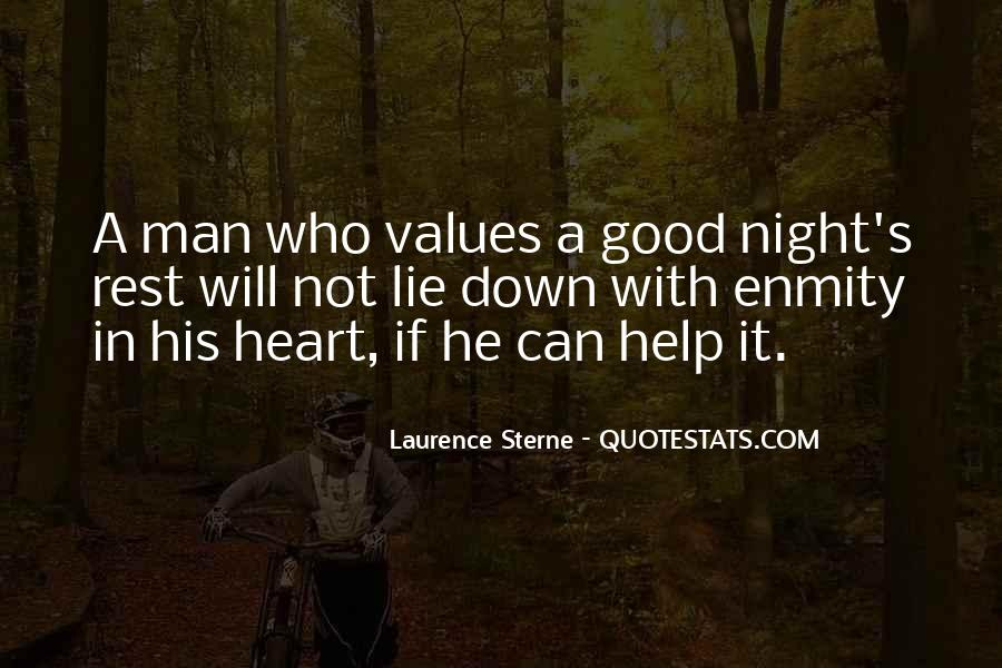 Good Night Heart Quotes #1805078