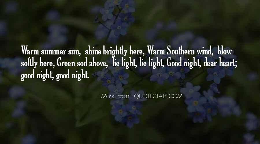 Good Night Heart Quotes #464780