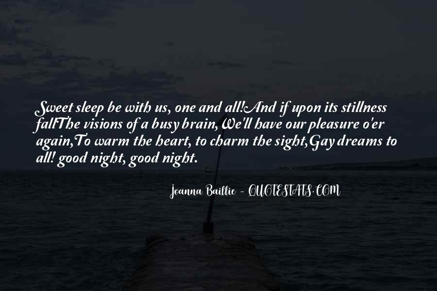 Good Night Heart Quotes #86166