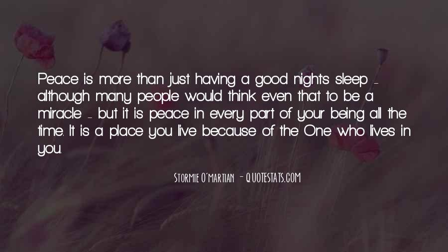 Good Night Time Quotes #1017137