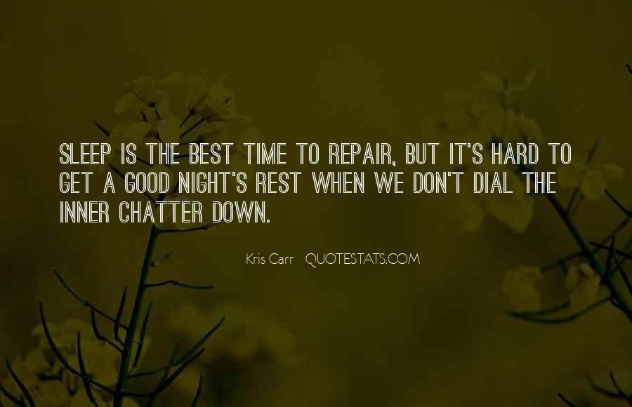 Good Night Time Quotes #1272001