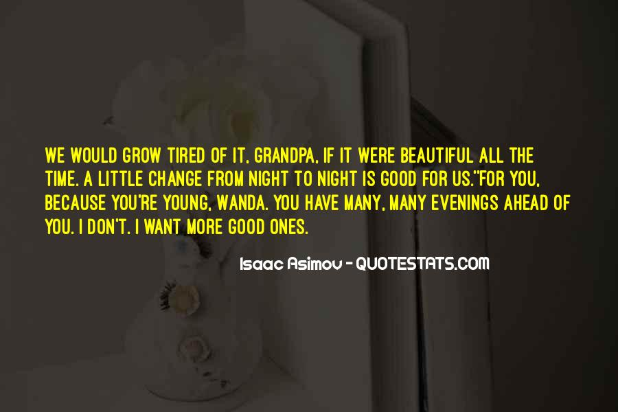 Good Night Time Quotes #1361138