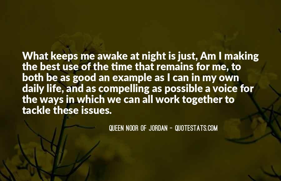 Good Night Time Quotes #1452357