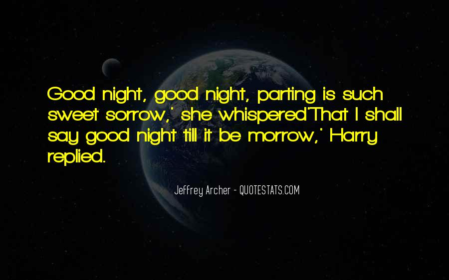 Good Night Time Quotes #539130