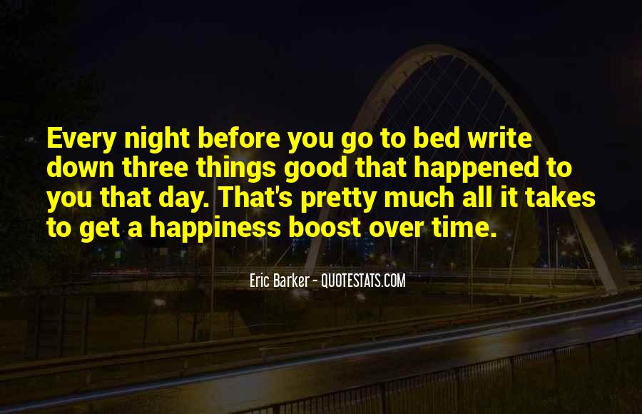 Good Night Time Quotes #90236