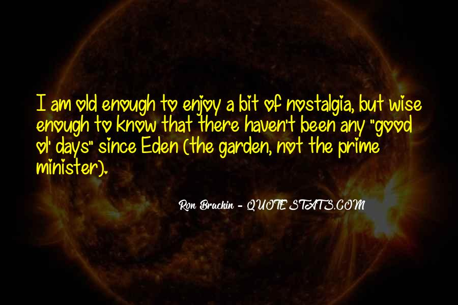 Good Ol Quotes #75713