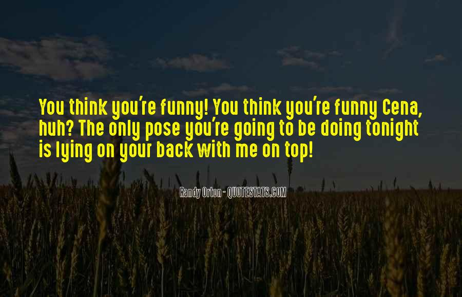 Quotes About Funny Tonight #216733