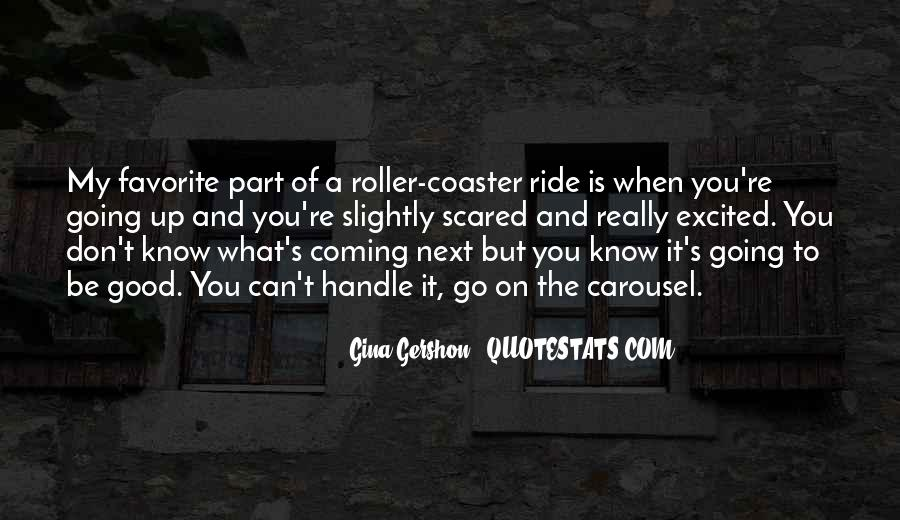 Good Roller Coaster Quotes #1716265