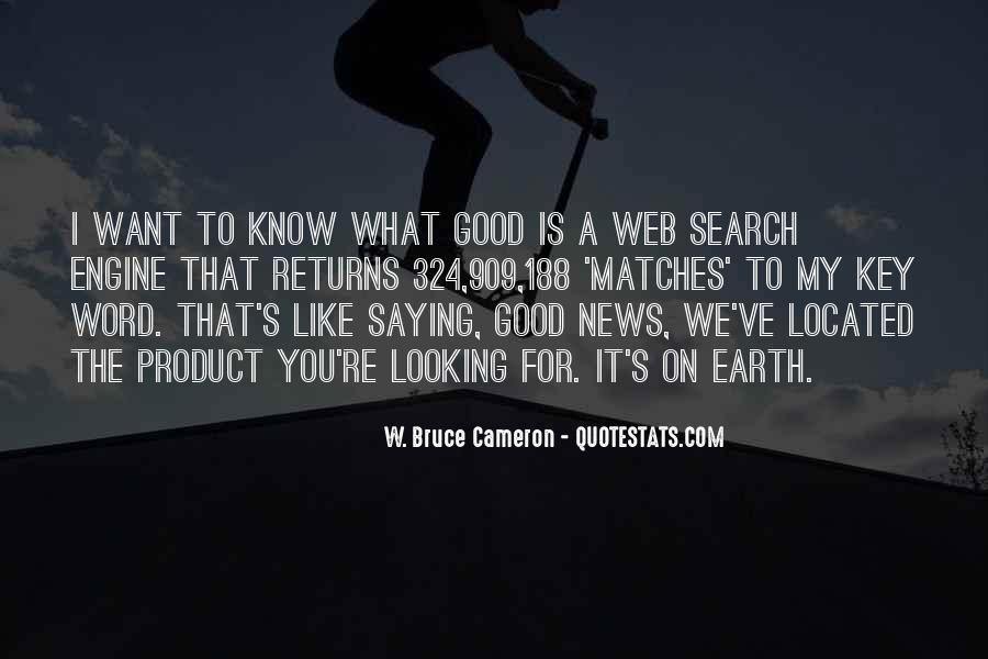 Good Search Quotes #1466787
