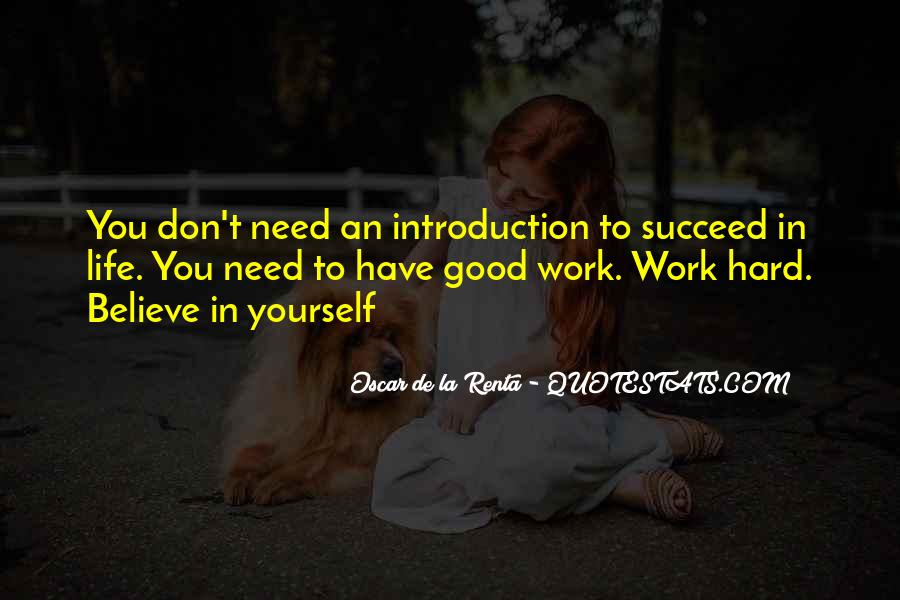 Good Self Introduction Quotes #1641370
