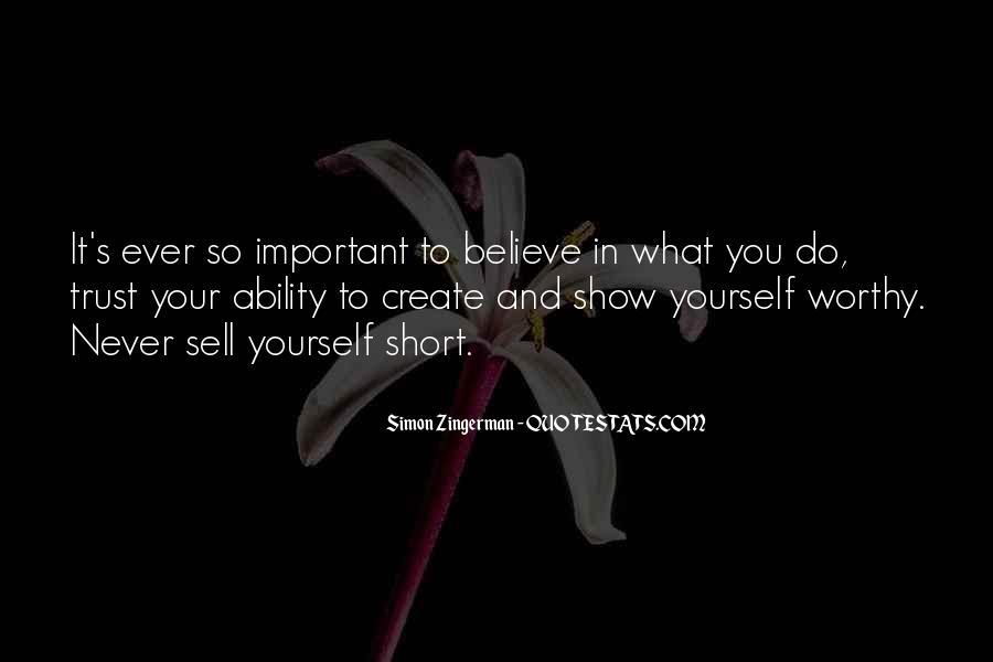 Good Short Trust Quotes #365382