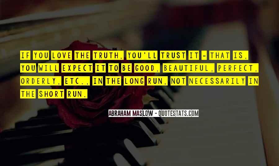 Good Short Trust Quotes #723523
