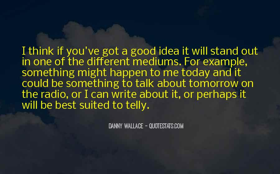 Good Stand Out Quotes #1497906