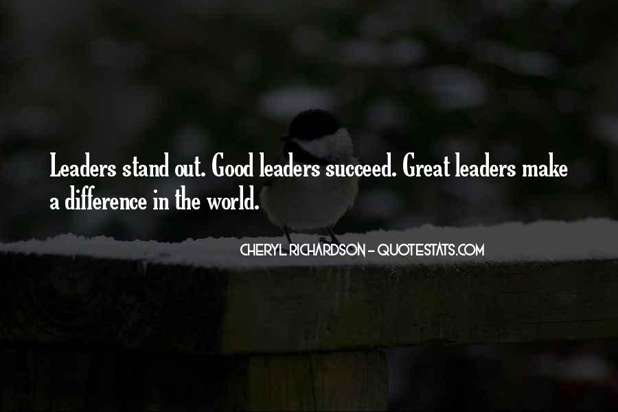 Good Stand Out Quotes #781245