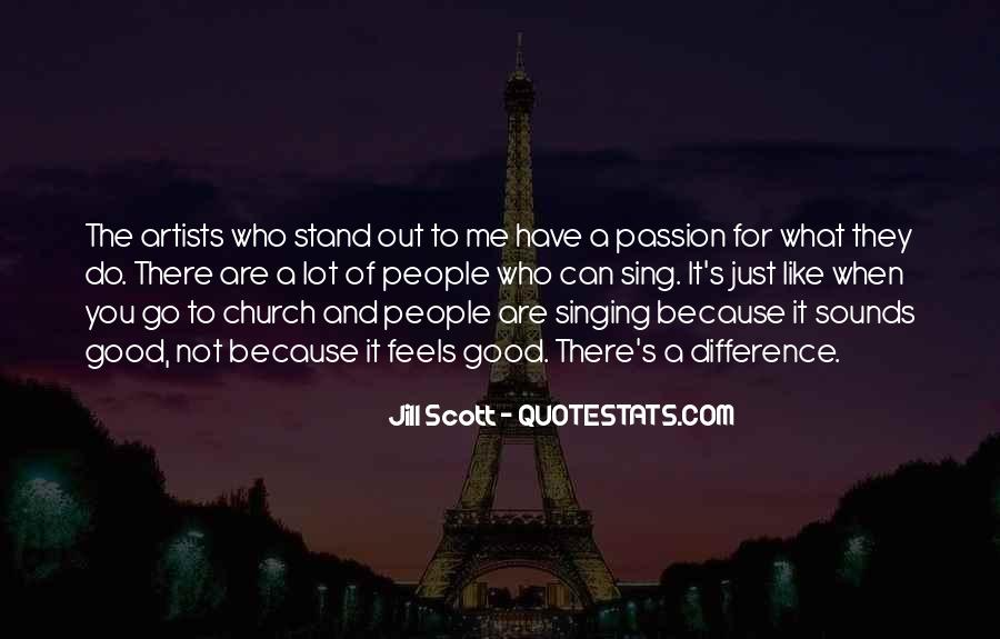 Good Stand Out Quotes #795611