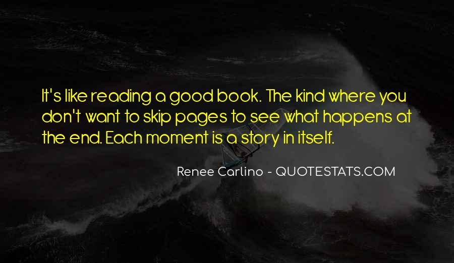 Good Story Book Quotes #11476