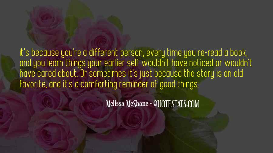 Good Story Book Quotes #1437304