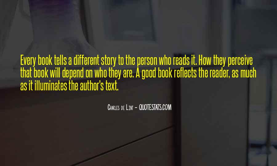 Good Story Book Quotes #1555180