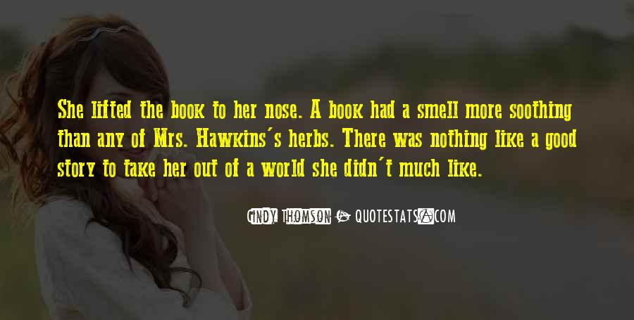 Good Story Book Quotes #1674380