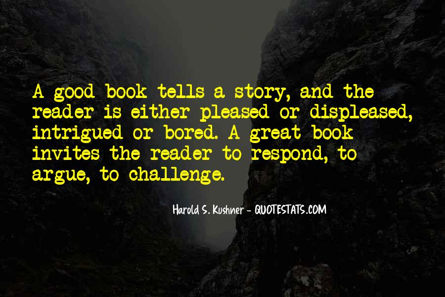 Good Story Book Quotes #1790074