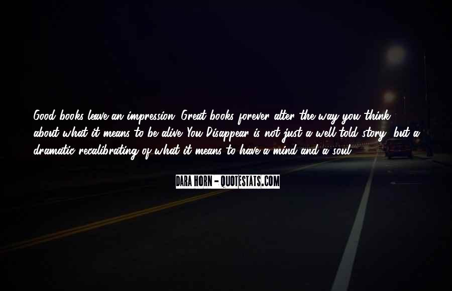 Good Story Book Quotes #1813183