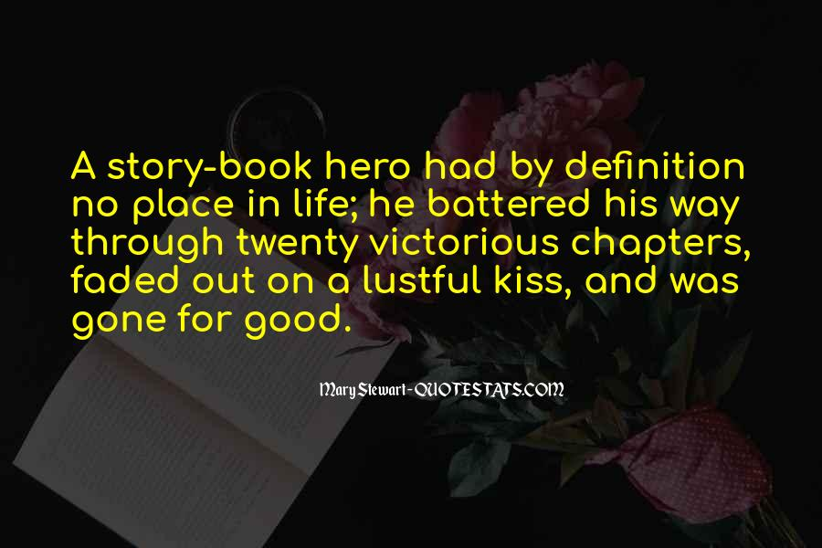 Good Story Book Quotes #288676