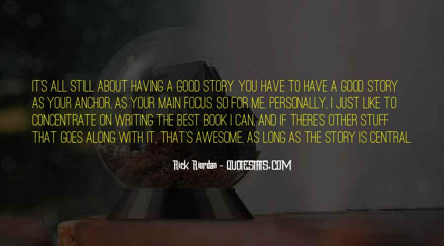 Good Story Book Quotes #377216