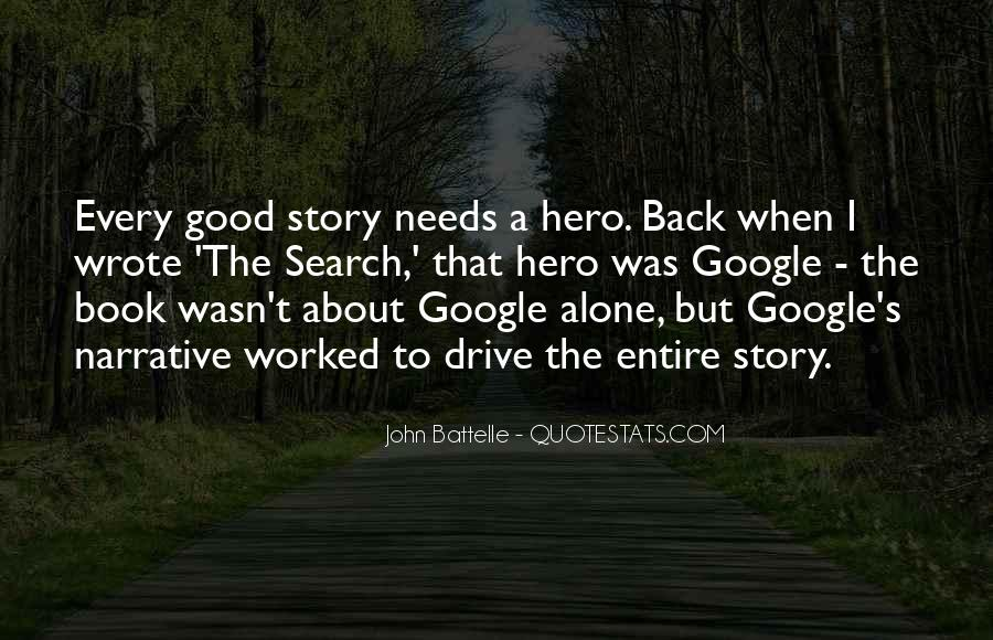 Good Story Book Quotes #556737