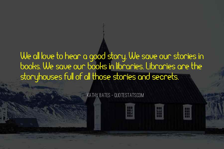 Good Story Book Quotes #624206