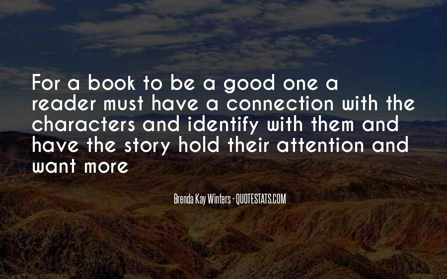 Good Story Book Quotes #855893