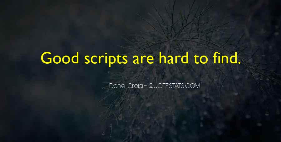 Good Things Are Hard To Find Quotes #395453