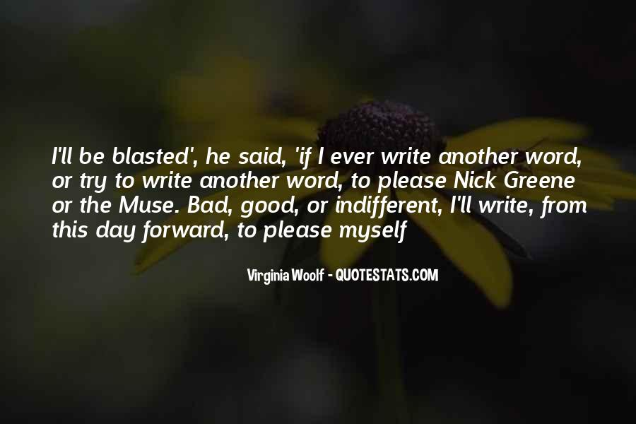 Good To Bad Day Quotes #1004518
