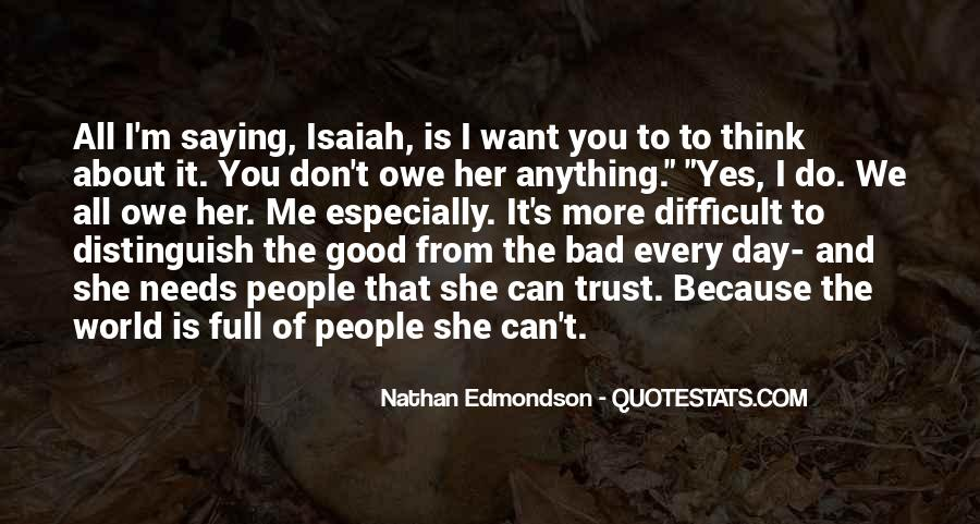 Good To Bad Day Quotes #105480