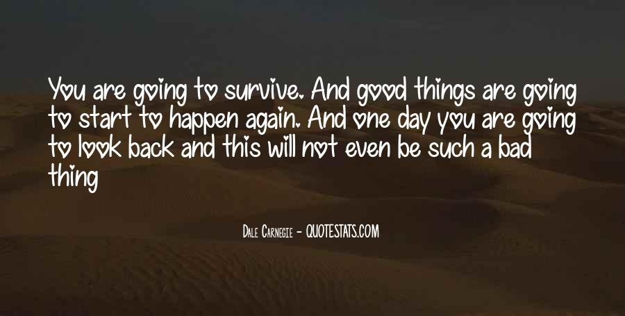 Good To Bad Day Quotes #1149322