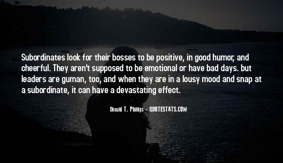 Good To Bad Day Quotes #1408204