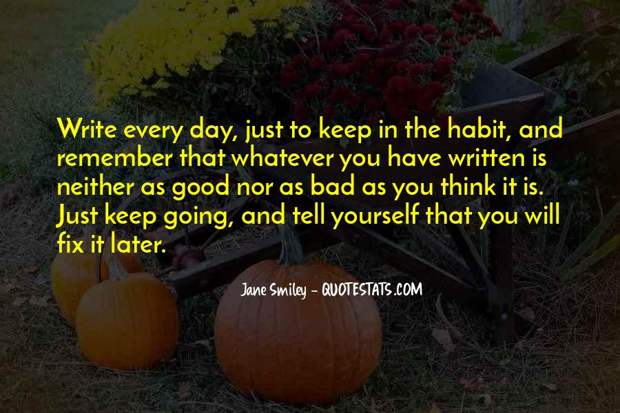 Good To Bad Day Quotes #223183