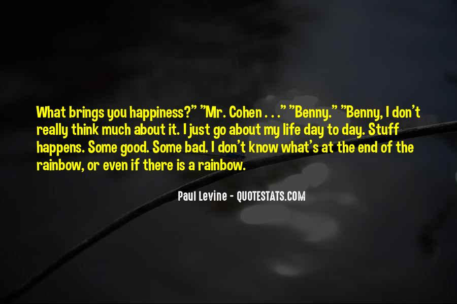 Good To Bad Day Quotes #870765