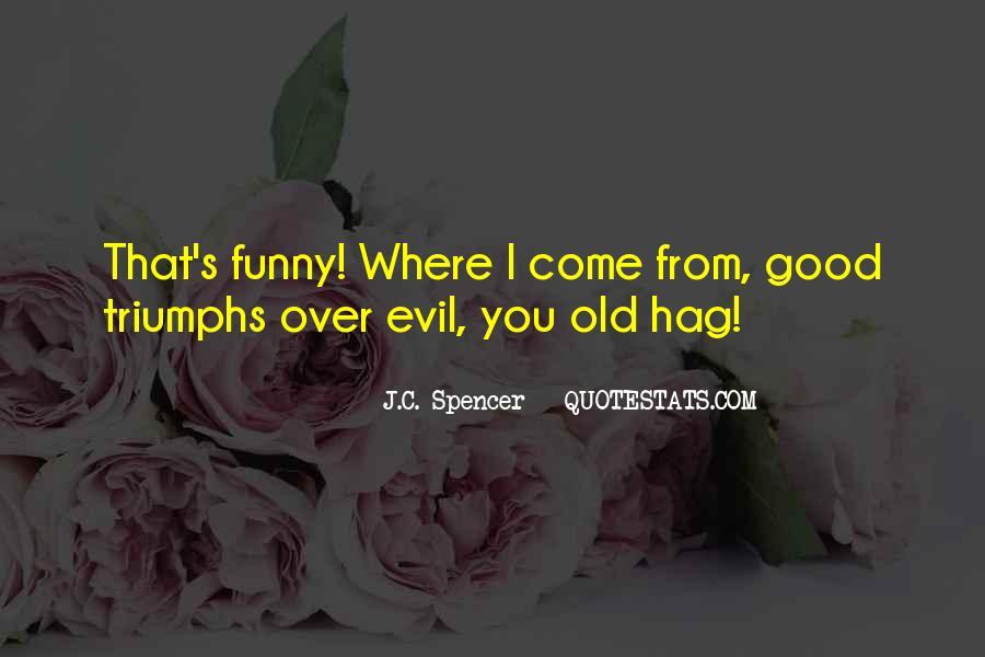 Good Vs Evil Funny Quotes #280325