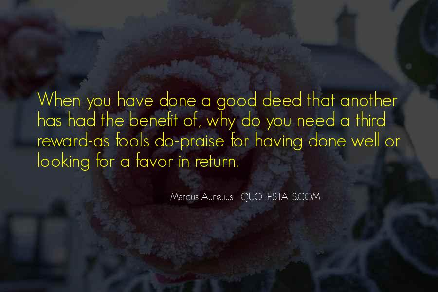 Good Well Done Quotes #1432444