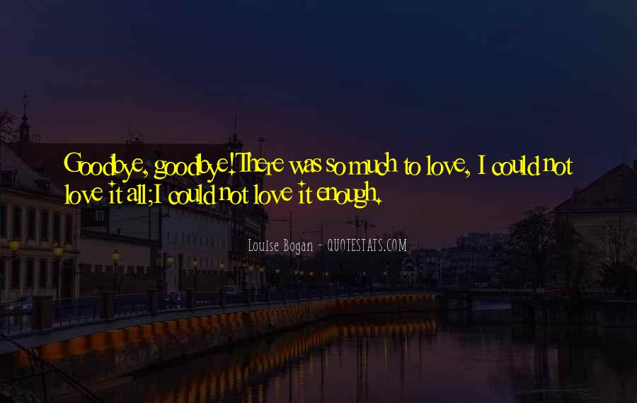 Goodbye For Now Love Quotes #388415