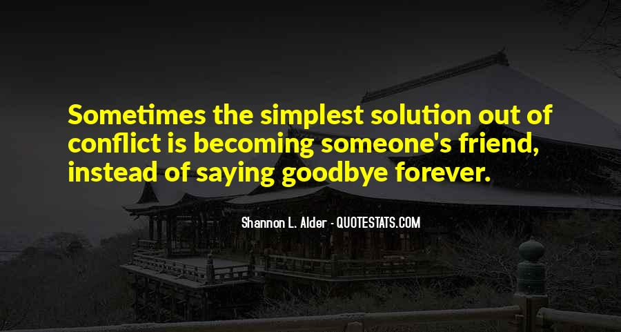 Goodbye For Now Love Quotes #59311